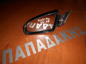 Audi A4 2001-2008 καθρέπτης αριστερός ηλεκτρικός 5 καλώδια μαύρος