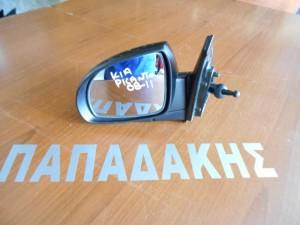 KIA Picanto 2008-2011 μηχανικός καθρέπτης αριστερός μαύρος