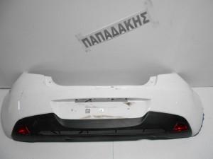 Mazda 2 2007-2014 προφυλακτήρας οπίσθιος λευκός