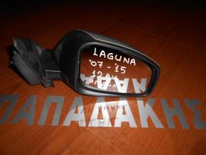 Renault Laguna 2007-2015 ηλεκτρικός καθρέπτης εξωτερικός δεξιός-12 ακίδων-ανακλινόμενος-ασημί