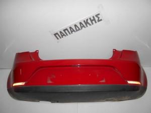 Seat Ibiza 2008-2012 3θυρο προφυλακτήρας οπίσθιος κόκκινος
