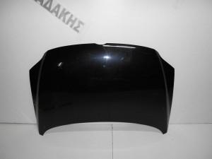 VW Fox 2005--> καπό εμπρός μαύρο