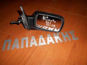 KIA Picanto 2004-2008 καθρέπτης δεξιός μηχανικός άβαφος