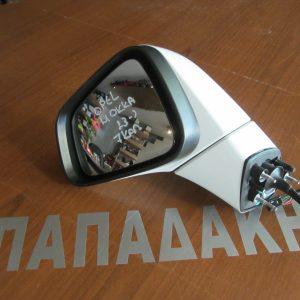 Opel Mokka 2013- καθρέπτης αριστερός ηλεκτρικός ανακλινόμενος 7 καλώδια λευκός