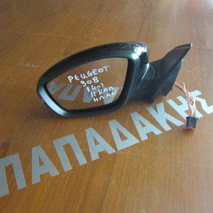 Peugeot 308 2014- καθρέπτης αριστερός ηλεκτρικός ανακλινόμενος 11 καλώδια μαύρος