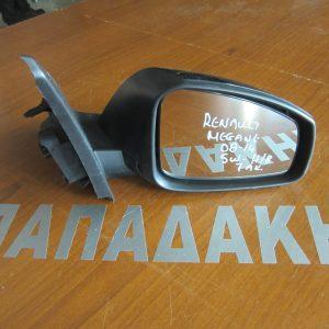 Renault Megane 2008-2016 Η/Β-S.W καθρέπτης δεξιός ηλεκτρικός 7 ακίδες μαύρος