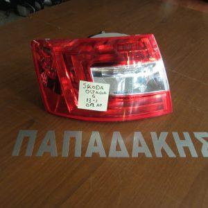 Skoda Octavia 6 2013- φανάρι οπίσθιο αριστερό