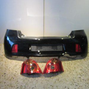 Toyota Yaris 2006-2009 T-Sport ΣΕΤ μετατροπής πίσω (προφυλακτήρας-φανάρια)