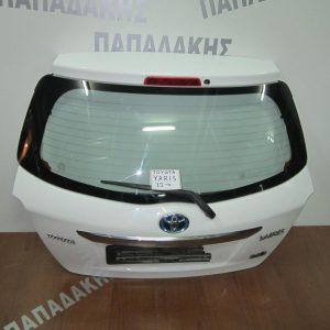 Toyota Yaris 2012- 3θ/5θ πόρτα οπίσθια λευκή