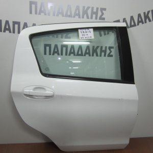 Toyota Yaris 2012- πόρτα πίσω δεξιά λευκή