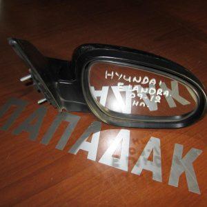 Hyundai Elandra 2009-2012 καθρέπτης δεξιός ηλεκτρικός μπλε σκούρο