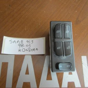 Saab 9.5 1998-2005 διακόπτης παραθύρων ηλεκτρικός εμπρός αριστερός 4πλός
