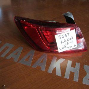 Seat Leon 2013- φανάρι πίσω αριστερό με LED