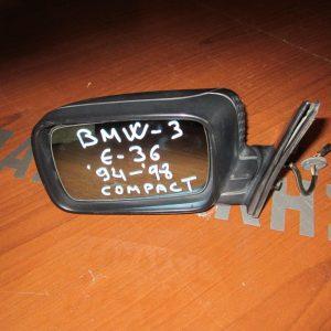 BMW Series 3 E36 Compact 1993-2000 καθρέπτης αριστερός ηλεκτρικός άβαφος
