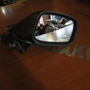 Fiat Ulysse 2002-2010,Peugeot 807 2002-2014 καθρέπτης δεξιός ηλεκτρικός 8 καλώδια μαύρος