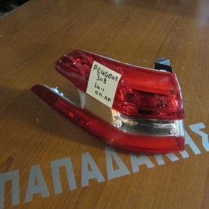 Peugeot 308 2014- φανάρι πίσω αριστερό