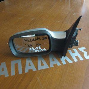 Renault Megane 2002-2008 καθρέπτης αριστερός ηλεκτρικός ανακλινόμενος ασημί