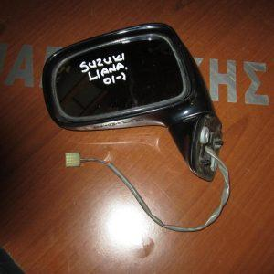 Suzuki Liana 2001- καθρέπτης αριστερός ηλεκτρικός μπλέ σκούρος
