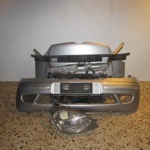Mercedes Vaneo 2002-2005 W414 μετώπη-μούρη εμπρός ασημί (καπό-μετώπη-ψυγεία-φανάρι δεξί-προφυλαχτήρας-τραβέρσα προφυλαχτήρα-μάσκα)