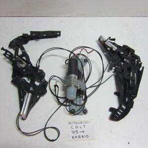 Mitsubishi Colt Cabrio 2006-2012 μοτερ και μπρατσα ουρανου
