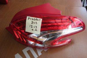 Peugeot 208 2012-2017 φαναρι πισω δεξιο