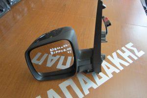 Peugeot Bipper 2008-2015 καθρεπτης αριστερος ηλεκτρικος μαυρος