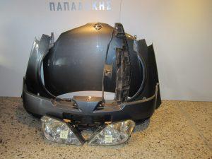 NISSAN PRIMERA P12 2002-2008 ΜΟΛΥΒΙ (ΚΑΠΟ-2 ΦΤΕΡΑ-2 ΦΑΝΑΡΙΑ-ΠΡΟΦΥΛΑΚΤΗΡΑΣ-ΤΡΑΒΕΡΣΑ ΚΑΠΟΥ)