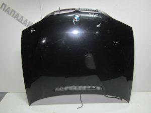 Bmw Series 3 E46 Lift 4θυρο 2003-2005 καπό εμπρός μαύρο