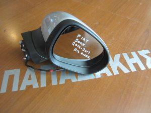 Fiat 500X 2014-2017 καθρεπτης δεξιος ηλεκτρικα ανακλινομενο ασημι