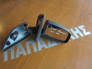 Fiat Panda 2003-2007 καθρέπτης δεξιός μηχανικός άβαφος