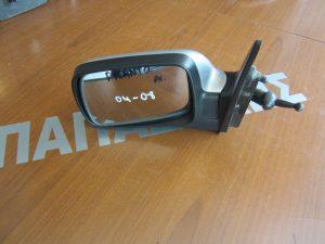 Kia Picanto 2004-2008 καθρεπτης αριστερος μηχανικος ασημι