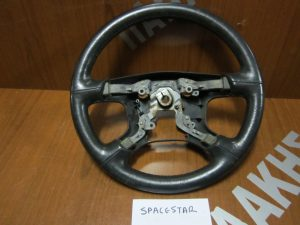 Mitsubishi Space Star 1998-2005 βολάν τιμονιού δερμα