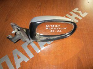 Nissan Almera N16 2000-2006 καθρεπτης δεξιος ηλεκτρικος ασημι