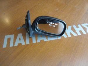 Nissan Micra K11 1993-2003 καθρεπτης δεξιος μηχανικος αβαφος
