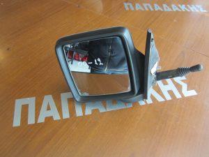 Opel Combo C 2001-2011 καθρέπτης αριστερός μηχανικός ασημί