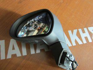 Peugeot 207 2006-2012 καθρεπτης αριστερος ηλεκτρικος 2 φις γκρι