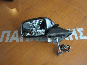 Peugeot 407 2004-2010 καθρέπτης αριστερός ηλεκτρικά ανακλινόμενος μαύρος