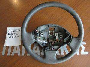 Renault Kangoo 2003-2008 βολάν τιμονιου γκρι σκουρο