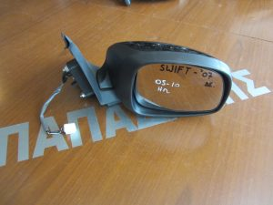Suzuki Swift 2005-2011 καθρεπτης δεξιος ηλεκτρικος μαυρος οβαλ φισα