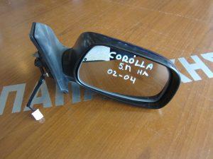 Toyota Corolla 2002-2004 5θυρο καθρέπτης δεξιός ηλεκτρικός οβάλ φις μπλε