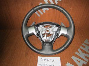 Toyota Yaris T-Sport βολάν τιμονιού δέρμα 2006-2011 χειριστήριο