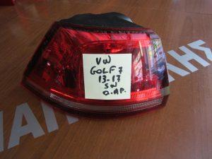 VW Golf 7 2013-2017 φανάρι πίσω αριστερό Station Wagon