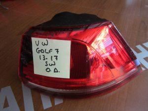VW Golf 7 2013-2017 φανάρι πίσω δεξιό Station Wagon