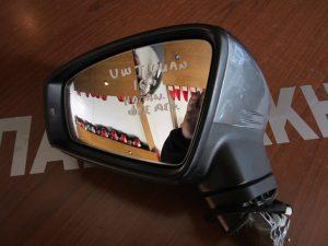 VW Tiguan  2016-2017 καθρεπτης αριστερος ηλεκτρικα ανακλινομενος φως ασφαλιας γκρι