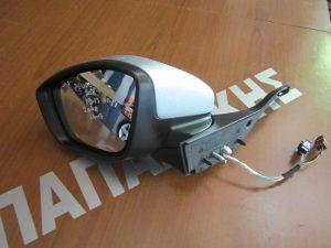 Peugeot 2008 2014-2017 καθρέπτης αριστερός ηλεκτρικός 7 καλώδια ασημί
