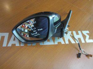 Peugeot 2008 2014-2017 καθρέπτης αριστερός ηλεκτρικός 7 καλώδια μαύρος
