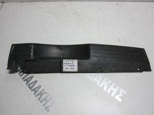 Suzuki Grand Vitara 1999-2005 άνω κάλυμμα πίσω προφυλακτήρα μαύρο άβαφο