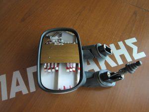 Fiat Doblo 2001-2010 καθρέπτης αριστερός μηχανικός άσπρος