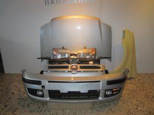 Fiat Panda 2003-2012 μούρη κομπλέ ασημί