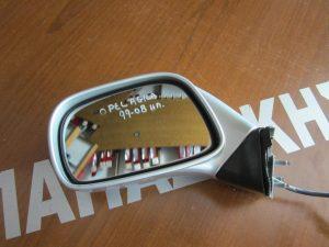 Opel Agila 1999-2008 καθρέπτης αριστερός ηλεκτρικός ασημί